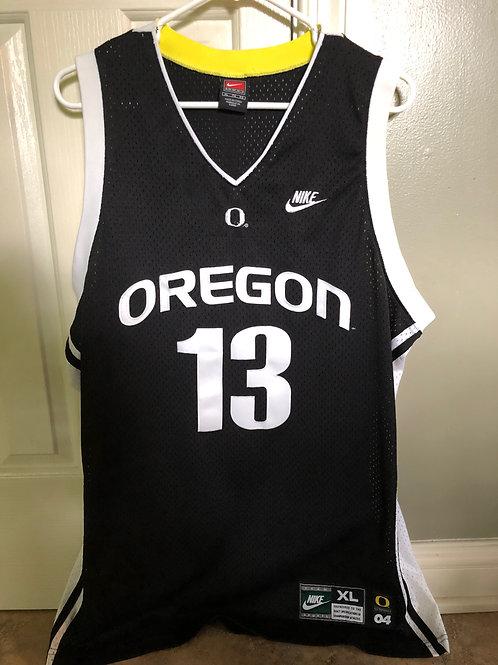 Nike '04 Oregon Ducks Luke Ridnour Swingman Jersey