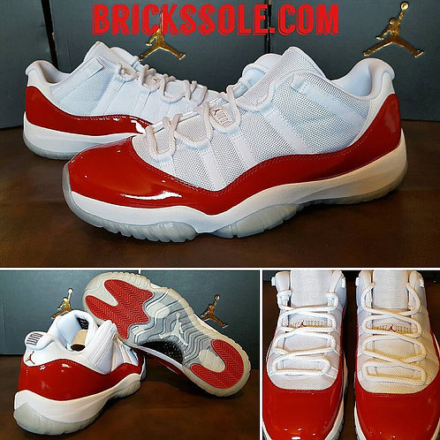Jordan 11 Retro Low Varsity Red 'Cherry' (2016)