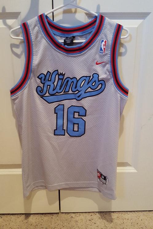Nike Rewind Peja Stojakovic Sacramento Kings Jersey - Size Youth L