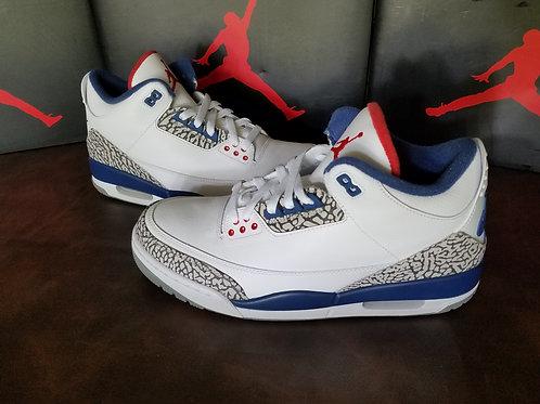 Air Jordan 3 Retro OG True Blue (2016)