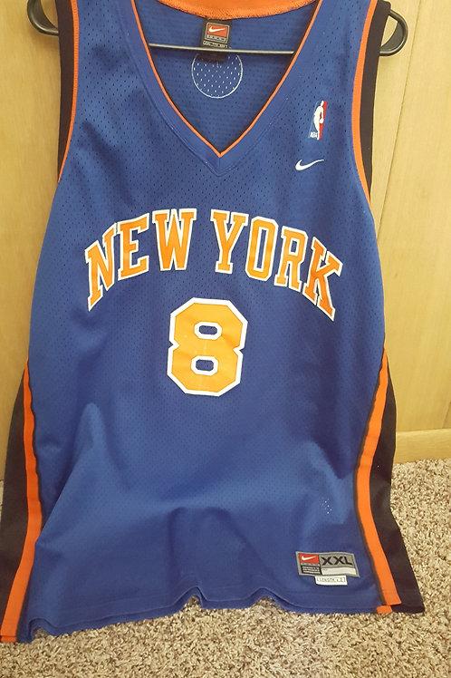 Nike Latrell Sprewell New York Knicks Swingman Jersey - Size XXL