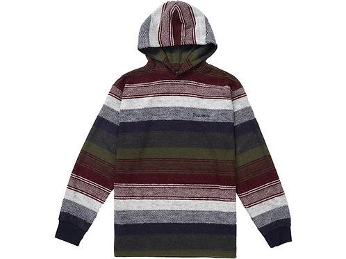Supreme Knit Stripe Hooded L/S Top