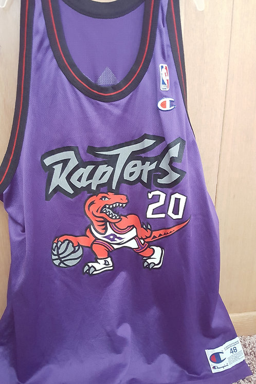 Champion Damon Stoudamire Toronto Raptors Jersey - Size 48 (XL)