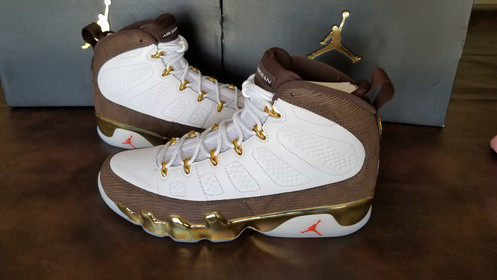 116fdbc1406 Air Jordan 9 Retro Melo MOP. $ 274.99. Carmelo Anthony played just one  season for Syracuse, in 2003, but it was a memorable one.
