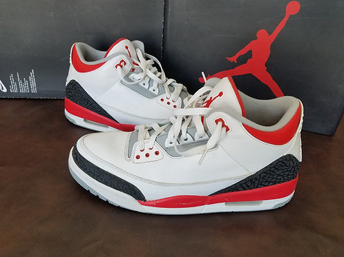 Air Jordan 3 Retro Fire Red (Pre-owned)