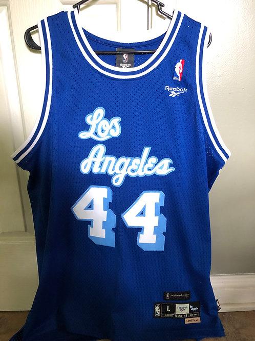 Reebok HWC Hardwood Classics Vintage LA Lakers Jerry West Swingman Jersey