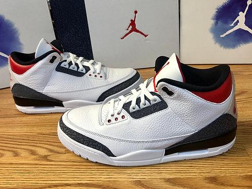 Air Jordan 3 Retro SE Fire Red Denim