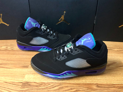 Air Jordan 5 Retro Low Golf Black Grape