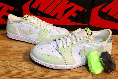 Air Jordan 1 Retro Low OG Ghost Green