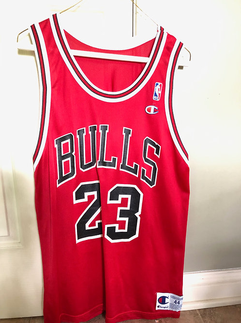 Vintage Champion Chicago Bulls Michael Jordan Jersey