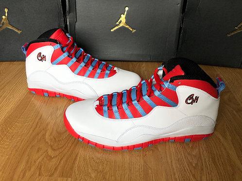 Air Jordan 10 Retro Chi Chicago Flag