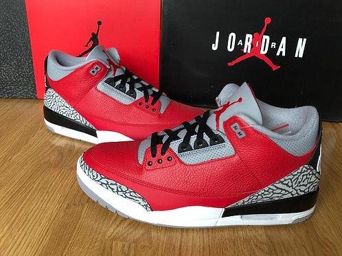 Air Jordan 3 Retro SE Fire Red Cement
