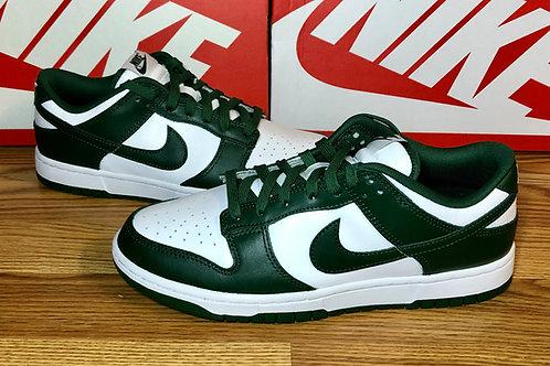 Nike Dunk Low Retro Team Green 'Michigan State'