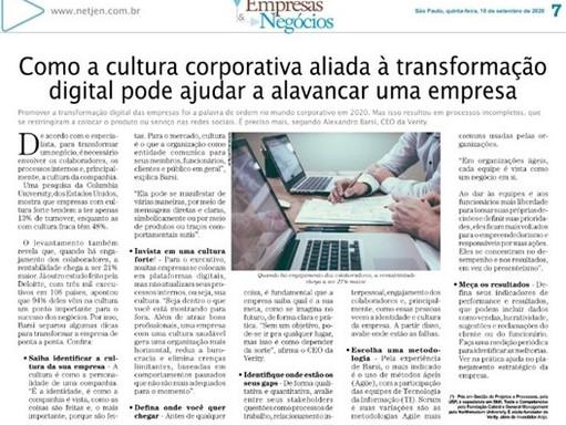 Como a cultura corporativa aliada à transformação digital pode ajudar a alavancar uma empresa
