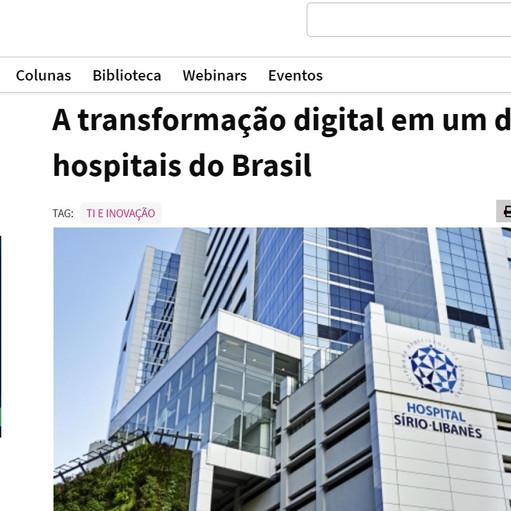 A transformação digital em um dos maiores hospitais do Brasil