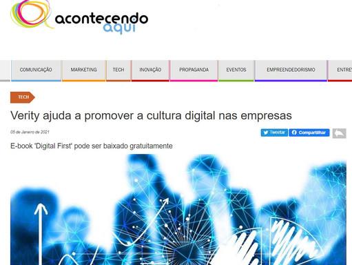 Verity ajuda a promover a cultura digital nas empresas