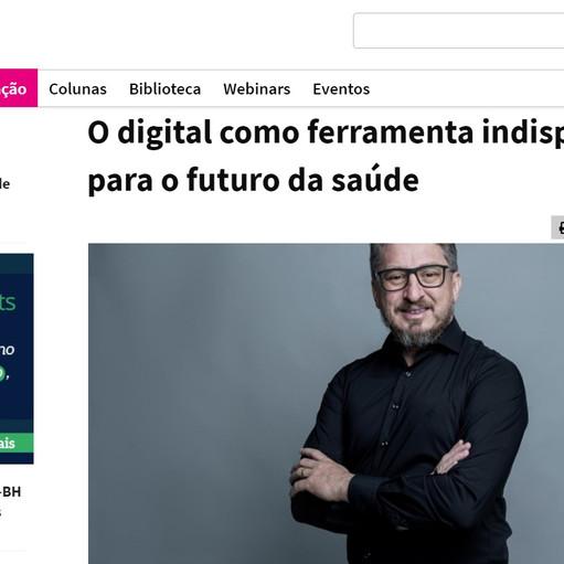 O digital como ferramenta indispensável para o futuro da saúde