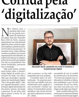Corrida pela 'digitalização' acelera entre as empresas
