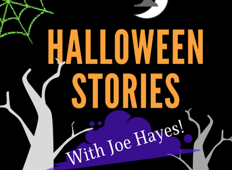 Halloween Stories with Joe Hayes! - 10/31 @ 3:30PM