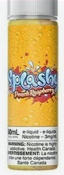 Peach Raspberry Splashy