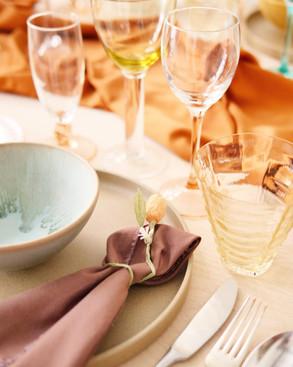 Table styling - Yonobi 1 year anniversary