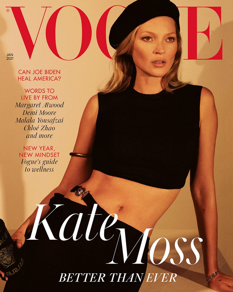 Vogue Jan 21 Cover