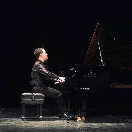 Recital at Tongji University, Shanghai, China