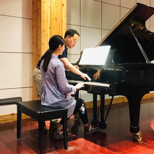 Masterclass at Tongji University, Shanghai, China