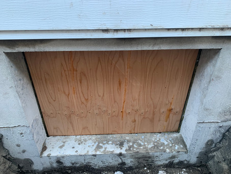 The right way to cut a basement window in a foundation wall