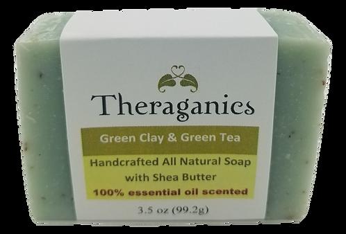 Green Clay & Green Tea Bar Soap