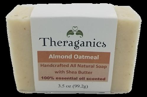 Almond Oatmeal Bar Soap