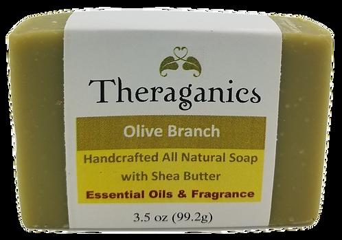 Olive Branch Bar Soap