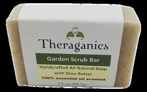 Garden Scrub Bar Soap