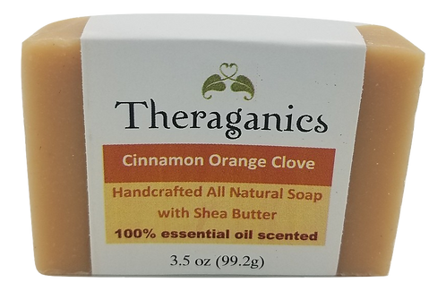 Cinnamon Orange Clove Bar Soap