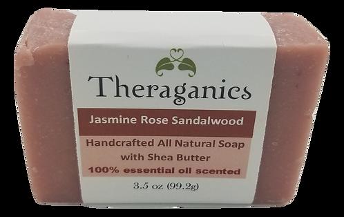 Jasmine Rose Sandalwood Bar Soap