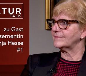 Der Kultur Talk: Dr. Anja Hesse im Interview