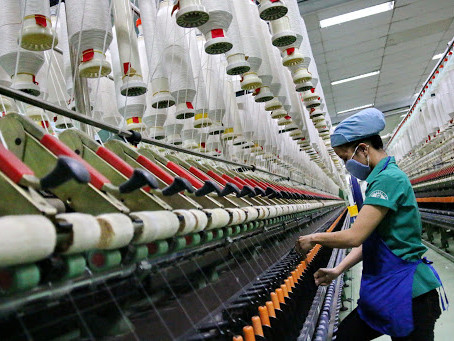 TEXTILE EXPORT IN ASIA - CHINA VS. VIETNAM