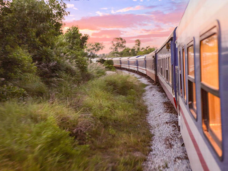 THE VIETAGE TRAIN, A LUXURIOUS RAILWAY ADVENTURE FROM DA NANG TO QUY NHON