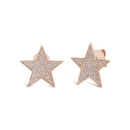 Pavé Star Studs