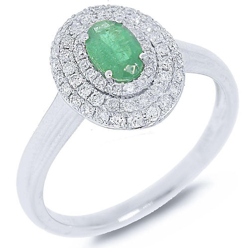 Emerald Luxe Ring
