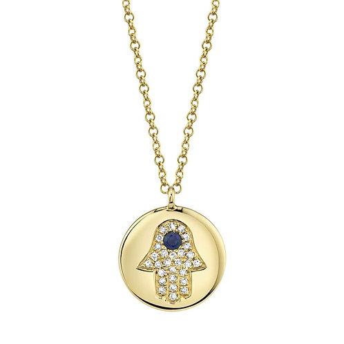 Hamsa Medallion
