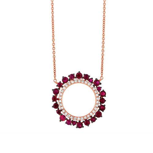 Riverdale Ruby Necklace