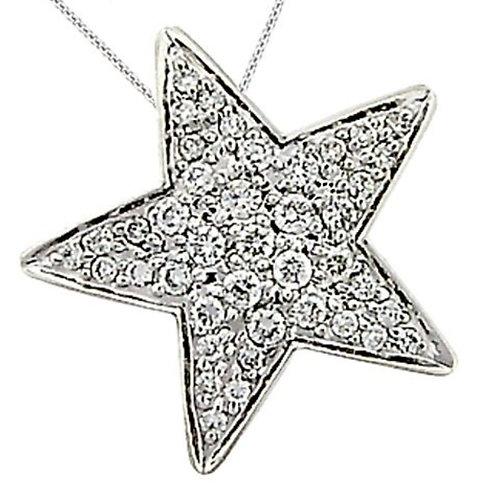 Pavé Star Necklace