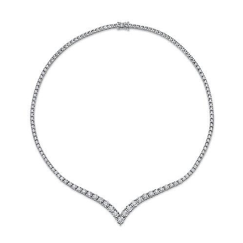 Victoria Tennis Necklace