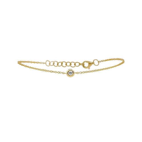 Petite Bezel Bracelet