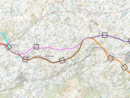 Public consultation - updated/deselected routes
