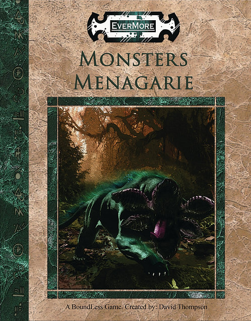 MONSTERS MENAGERIE