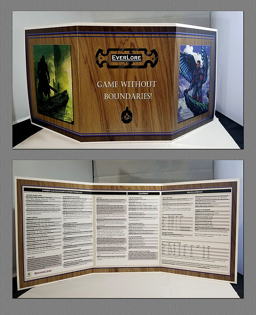 Lore Master Screen Wood Panel