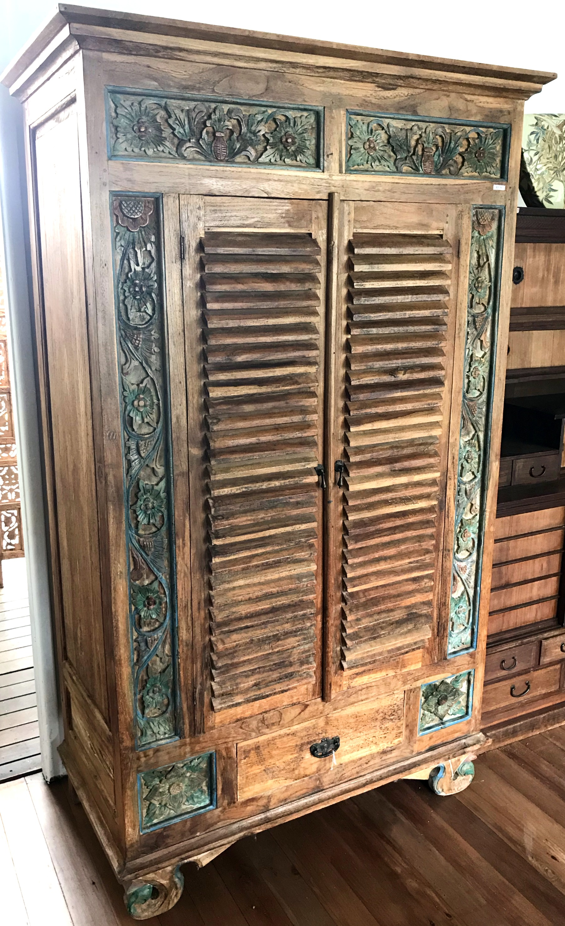 Old Indonesian Cupboard