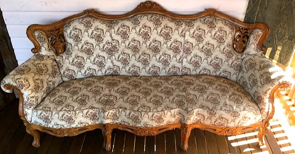 Vintage French Louis Chesterfield